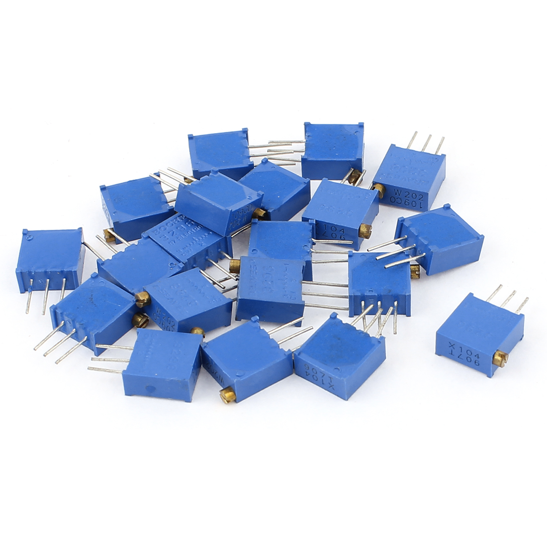 20Pcs 3296W-202 3296W-104 Resistor Trim Pot Potentiometer Trimmer