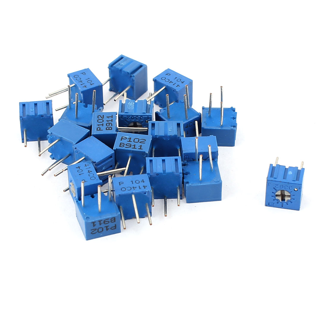20Pcs Potentiometer Trimmer Variable Resistor 3362P-102 3362P-104