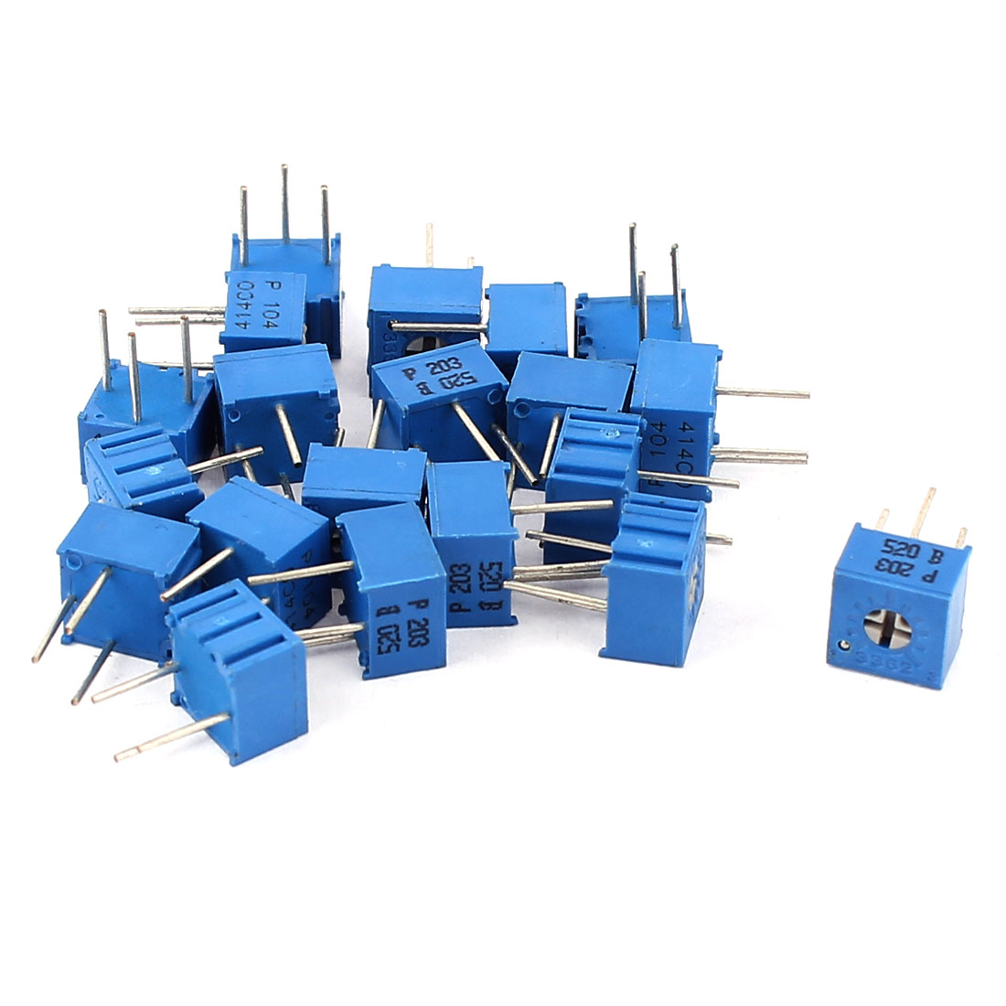 20Pcs Potentiometer Trimmer Variable Resistor 3362P-203 3362P-104
