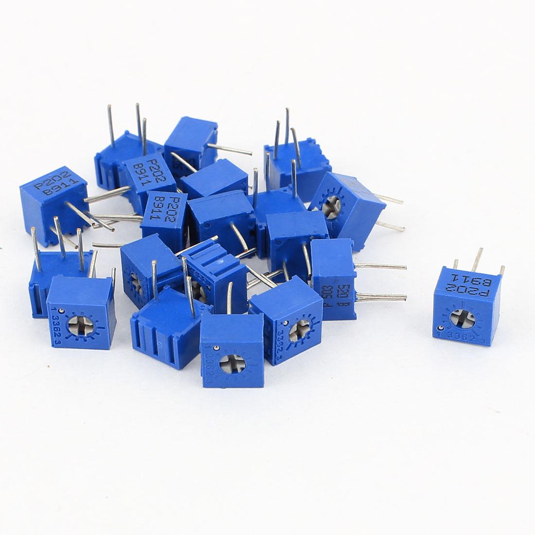 20Pcs Potentiometer Trimmer Variable Resistor 3362P-202 3362P-503
