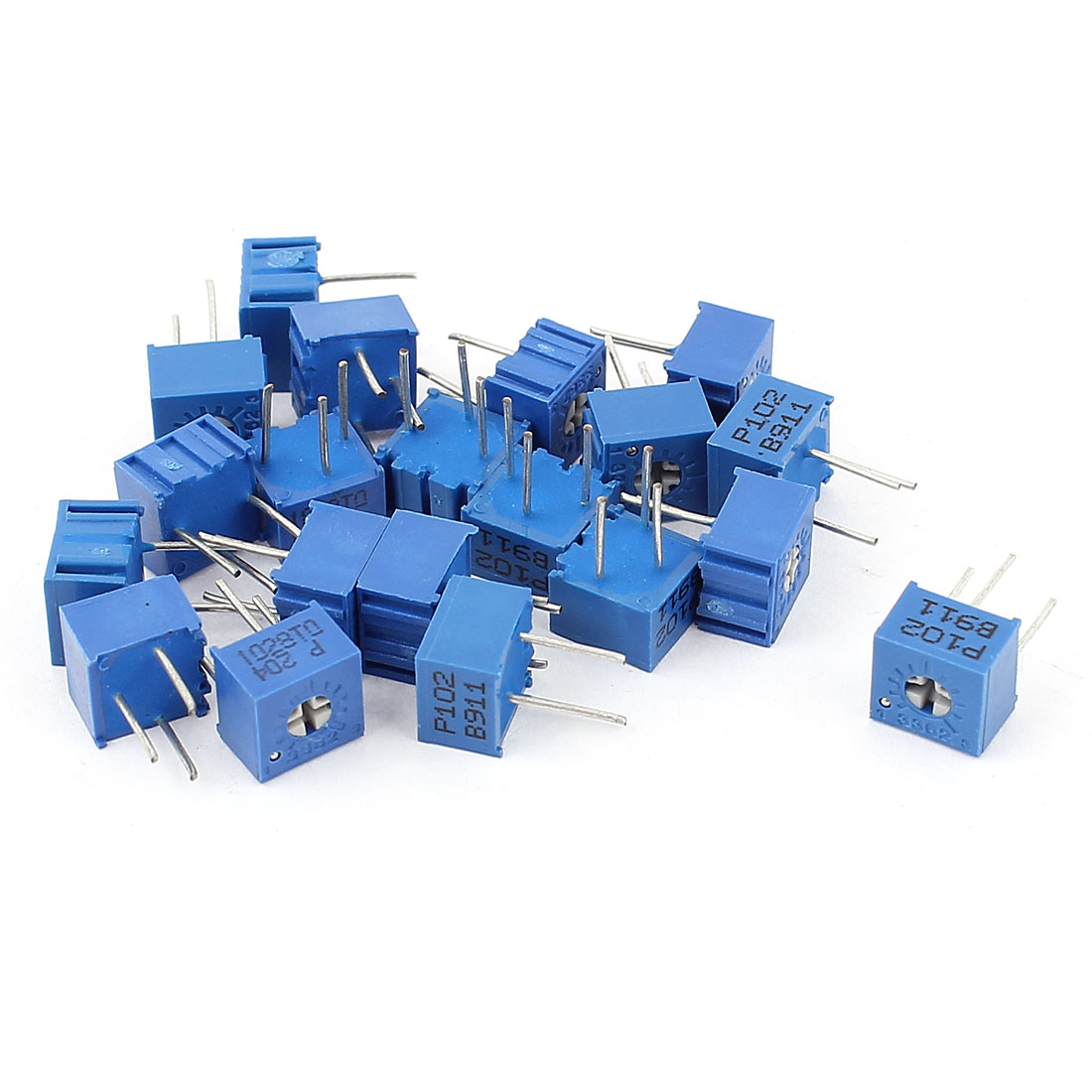 20Pcs Potentiometer Trimmer Variable Resistor 3362P-102 3362P-204