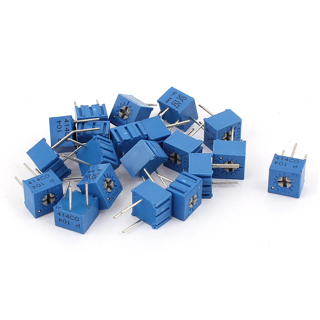 20Pcs Potentiometer Trimmer Variable Resistor 3362P-104 3362P-502
