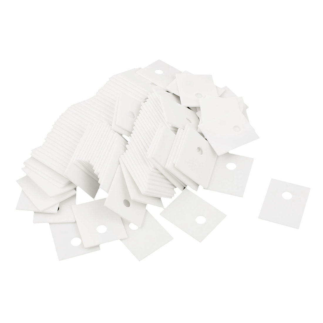 100Pcs TO-3P TO-247 20x25mm Ceramic Insulator Plates Sheet for Transistor Heat Sink
