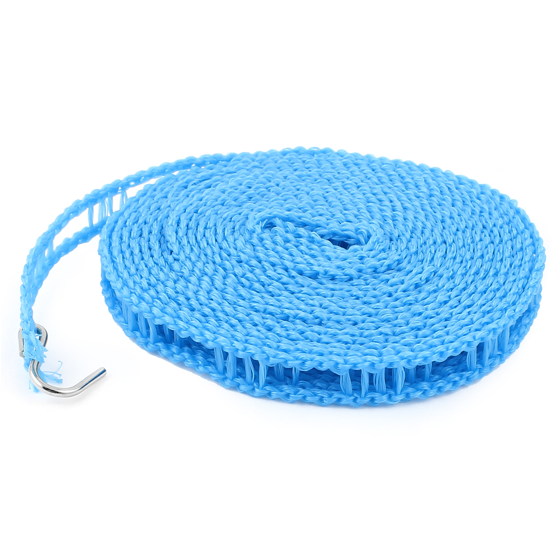 Outdoor Travel Clothesline Laundry Non-slip Washing Clothes Line Rope Blue