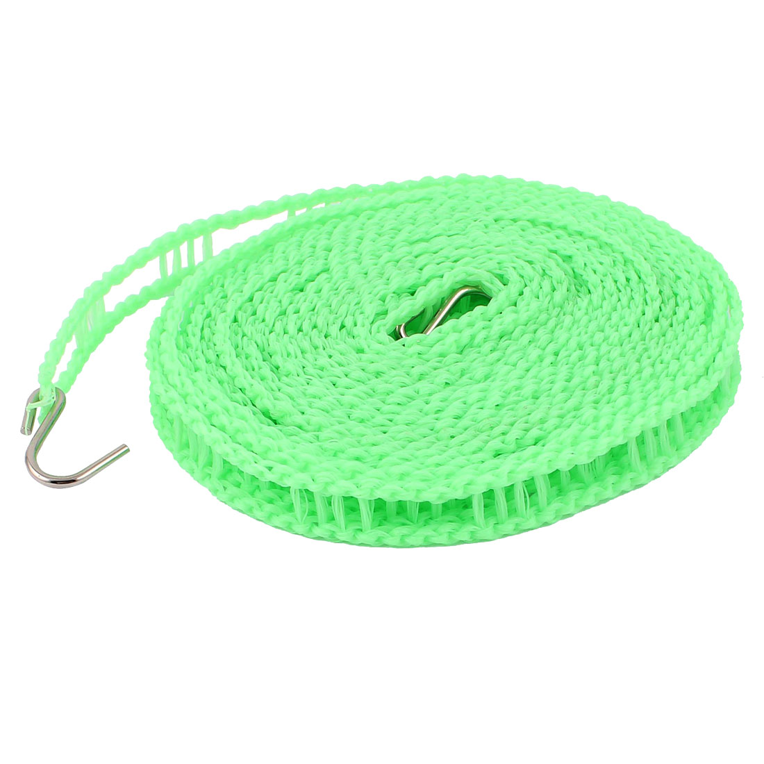 Outdoor Travel Clothesline Laundry Non-slip Washing Clothes Line Rope Green