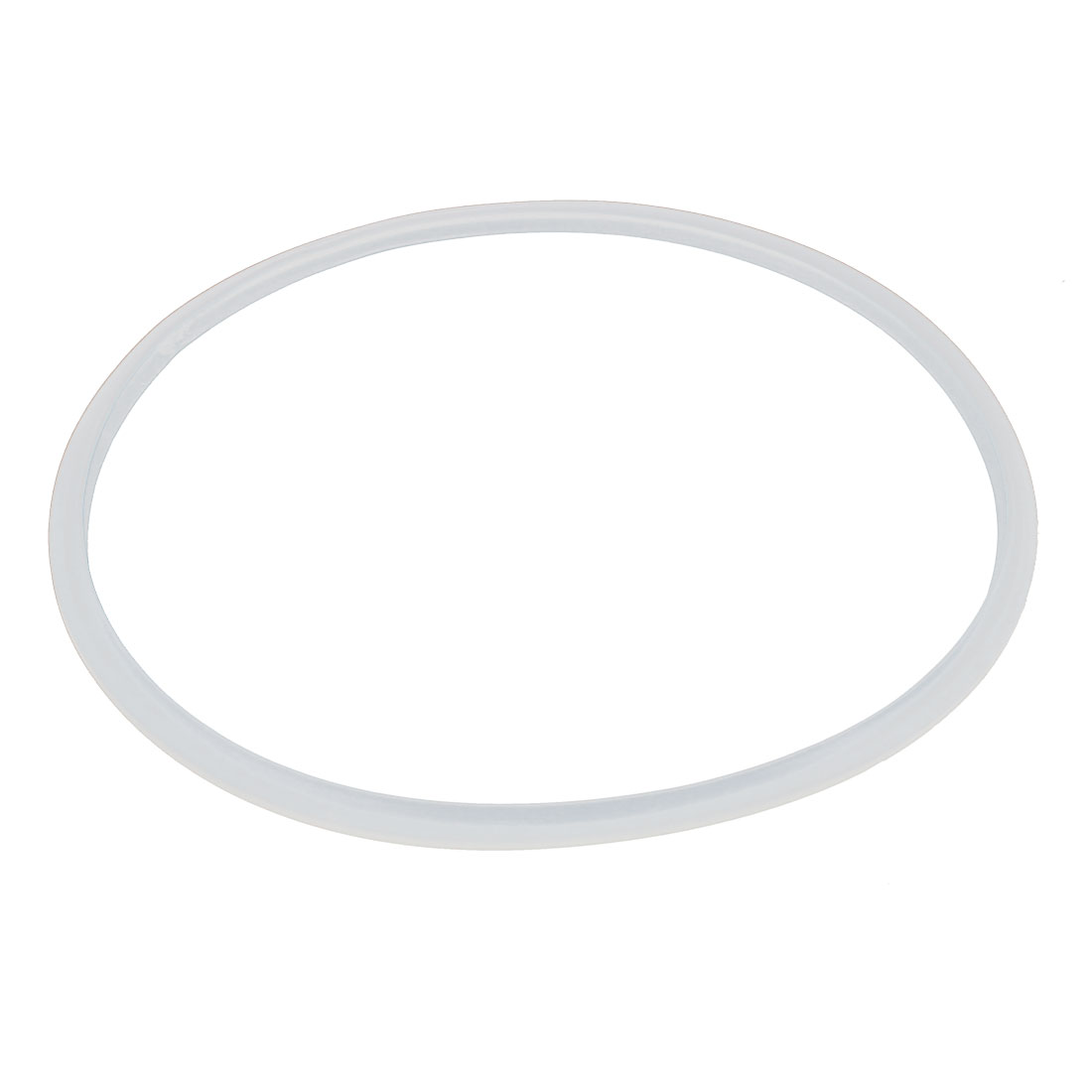 34cm x 32cm Clear White Rubber Seal Ring Replacement for Pressure Cooker