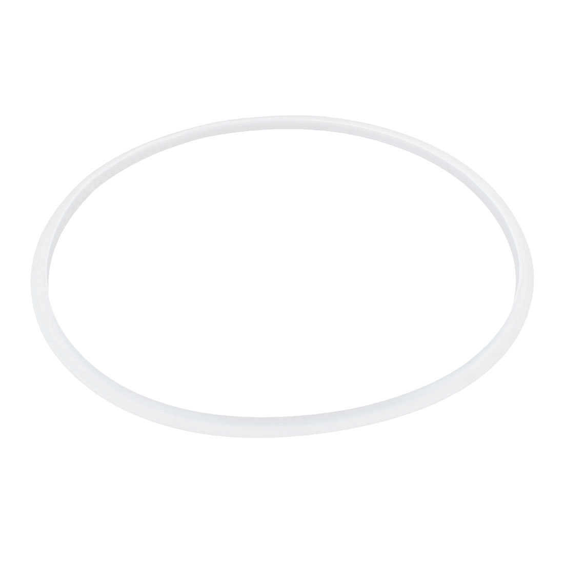 Pressure Cooker Part Gasket Sealing Ring Clear White 30cm Inside Dia