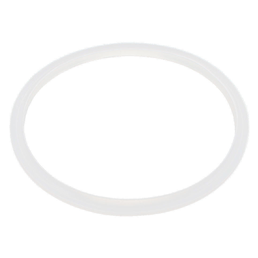 Pressure Cooker Part Gasket Sealing Ring Clear White 20cm Inside Dia