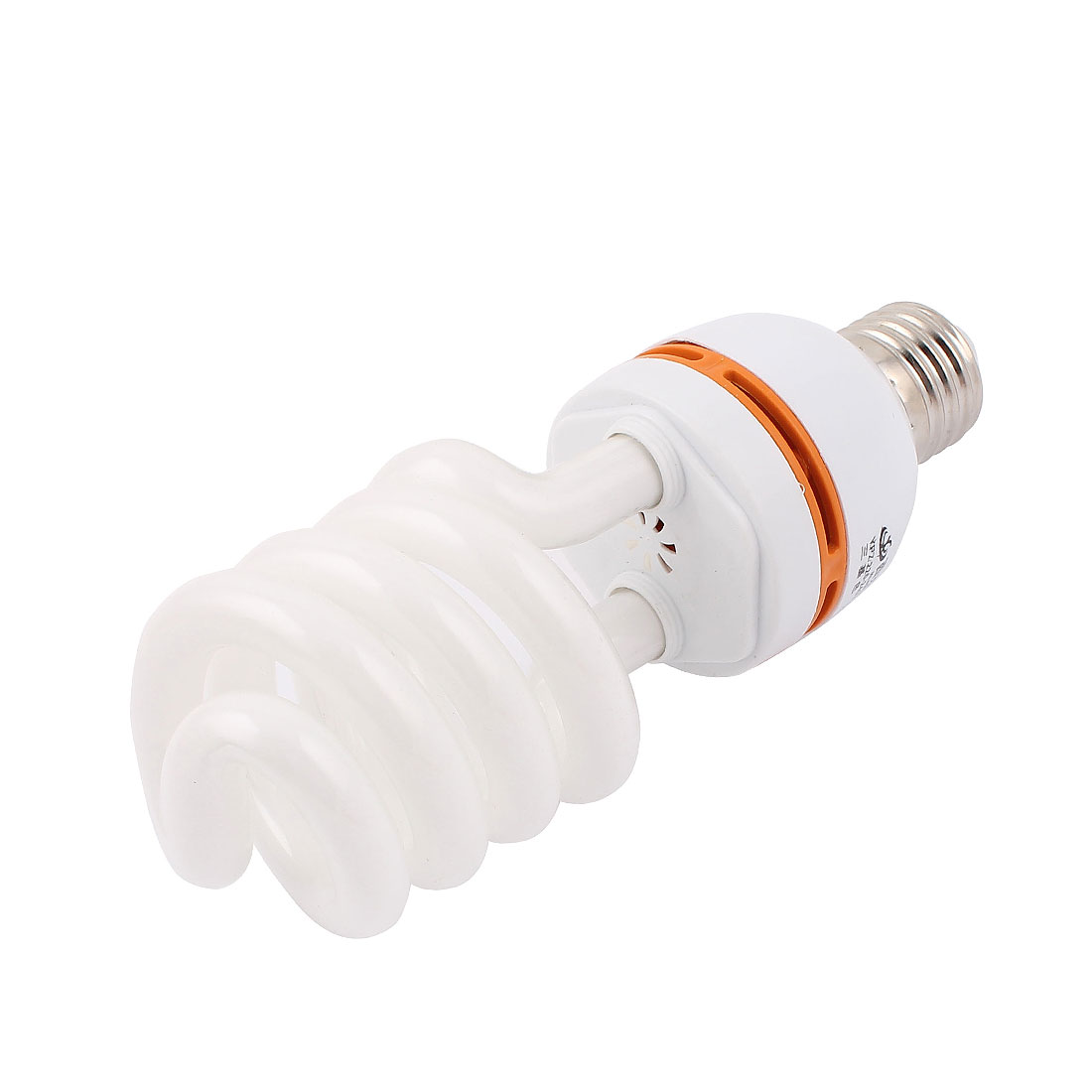 AC 170-240V 40W E27 Screw Office White Fluorescent Lamp Spiral Bulb