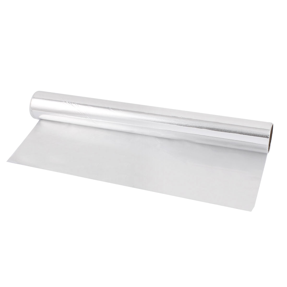 5M x 30cm Roll Oven BBQ Grill Baking Tinfoil Paper Aluminum Foil Silver Tone