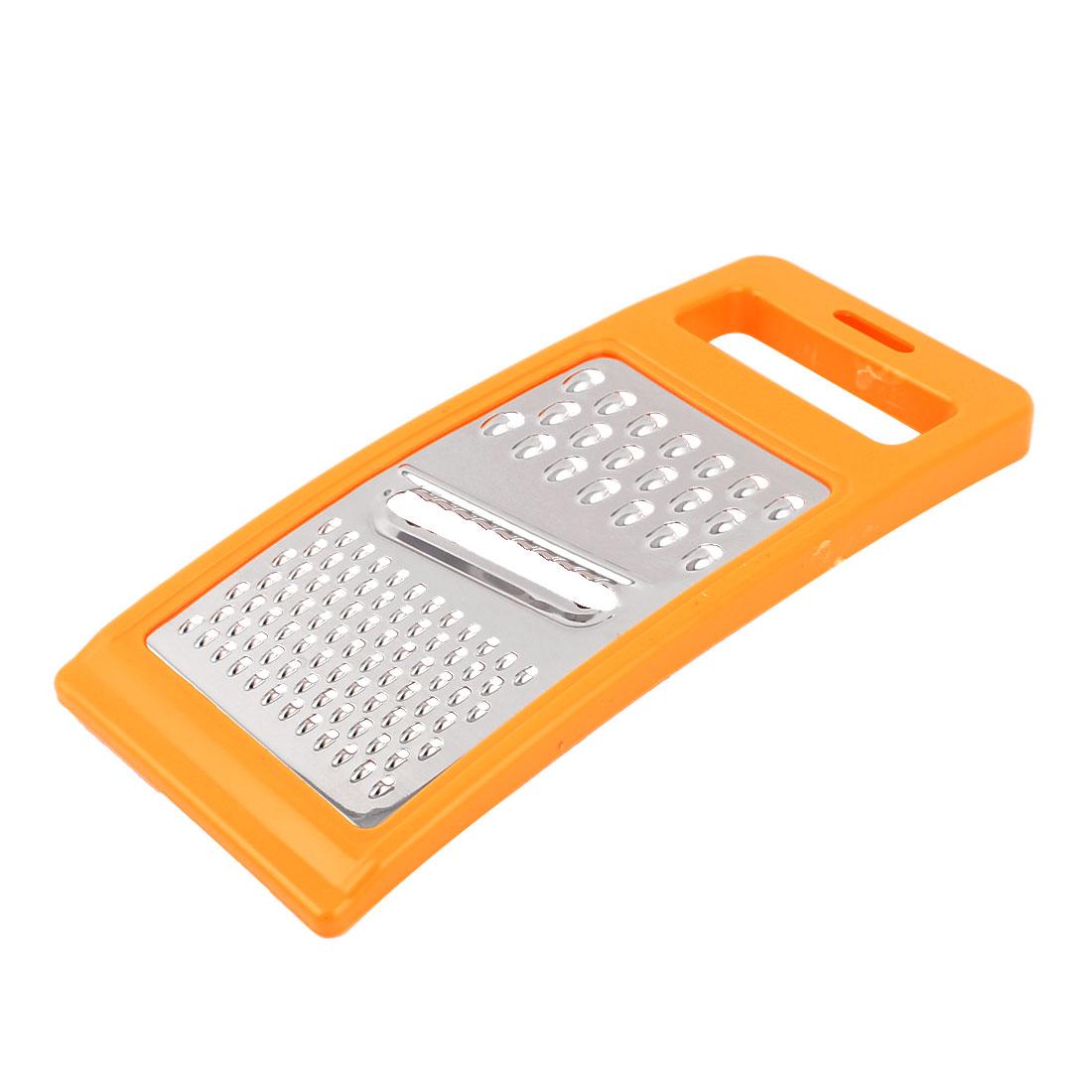Multi-function Vegetable Grater Slice Cutter Peeler Kitchen Tool Orange