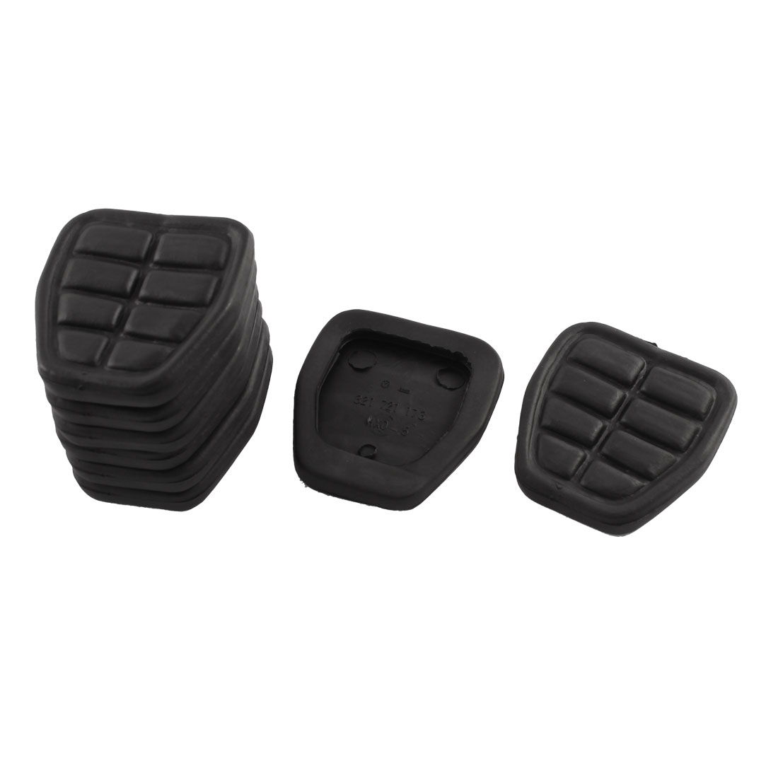 Clutch Brake Pedal Pad Rubber Set 321721173 8 Pcs for Audi 80