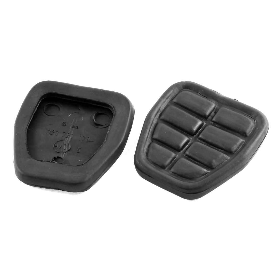 Clutch Brake Pedal Pad Rubber Set 321721173 2 Pcs for Audi 80