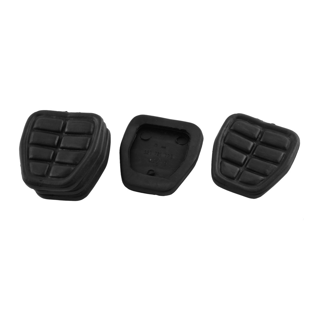 Clutch Brake Pedal Pad Rubber Set 321721173 5 Pcs for Audi 80