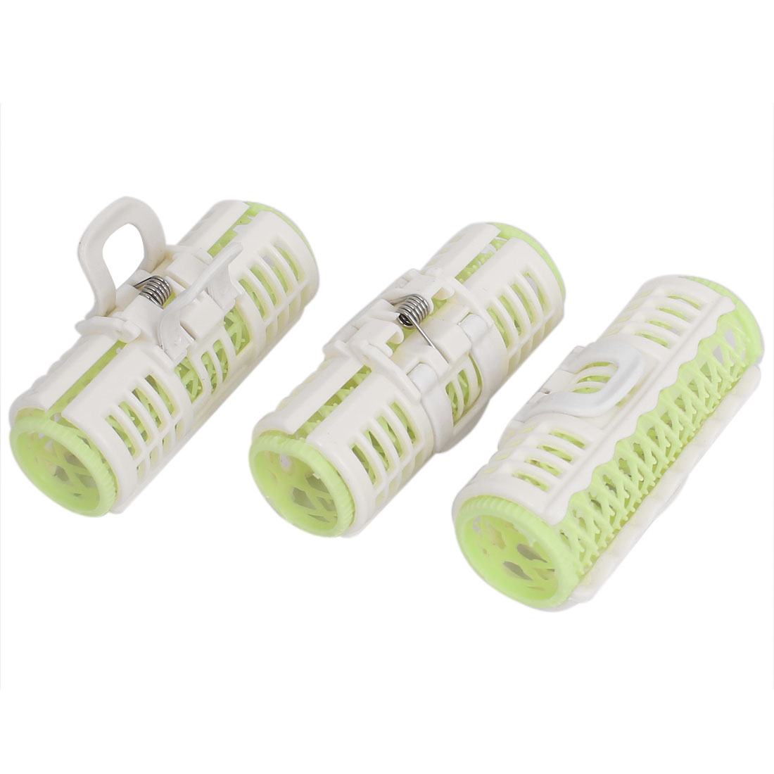 Women Plastic Hair Curler Grip Roller Cling Hairdressing DIY Tool 3pcs