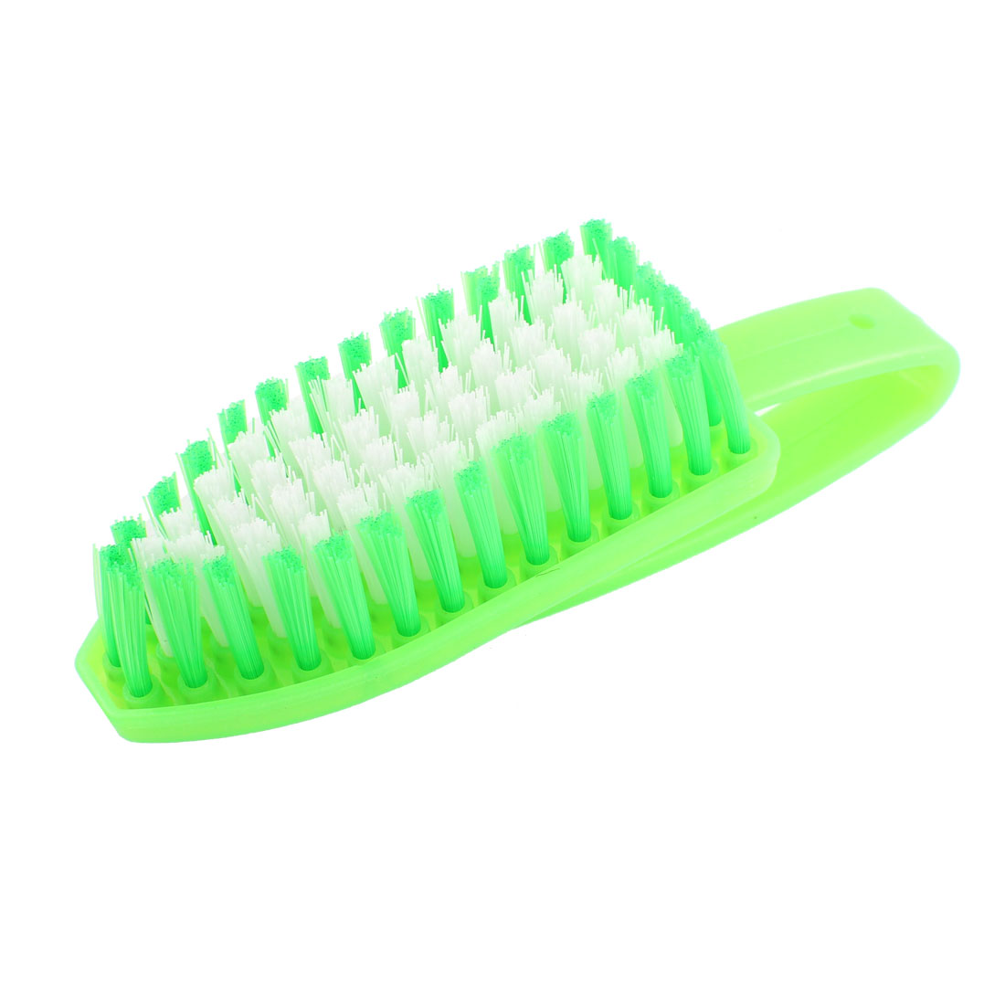 Home Green Plastic Handgrip Clothing Floor Washing Scrubbing Brush