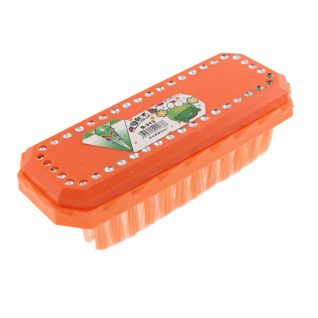 Home Laundry Orange Cleaning Tool Coat Shoes Dress Scrubbing Brush
