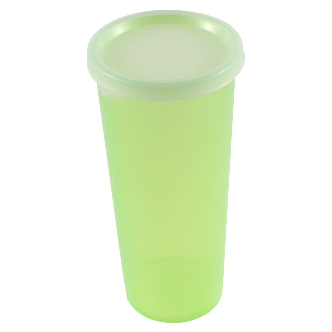Plastic 500mL Capacity Portable Casual Sport Fruit Juice Water Cup Bottle Green