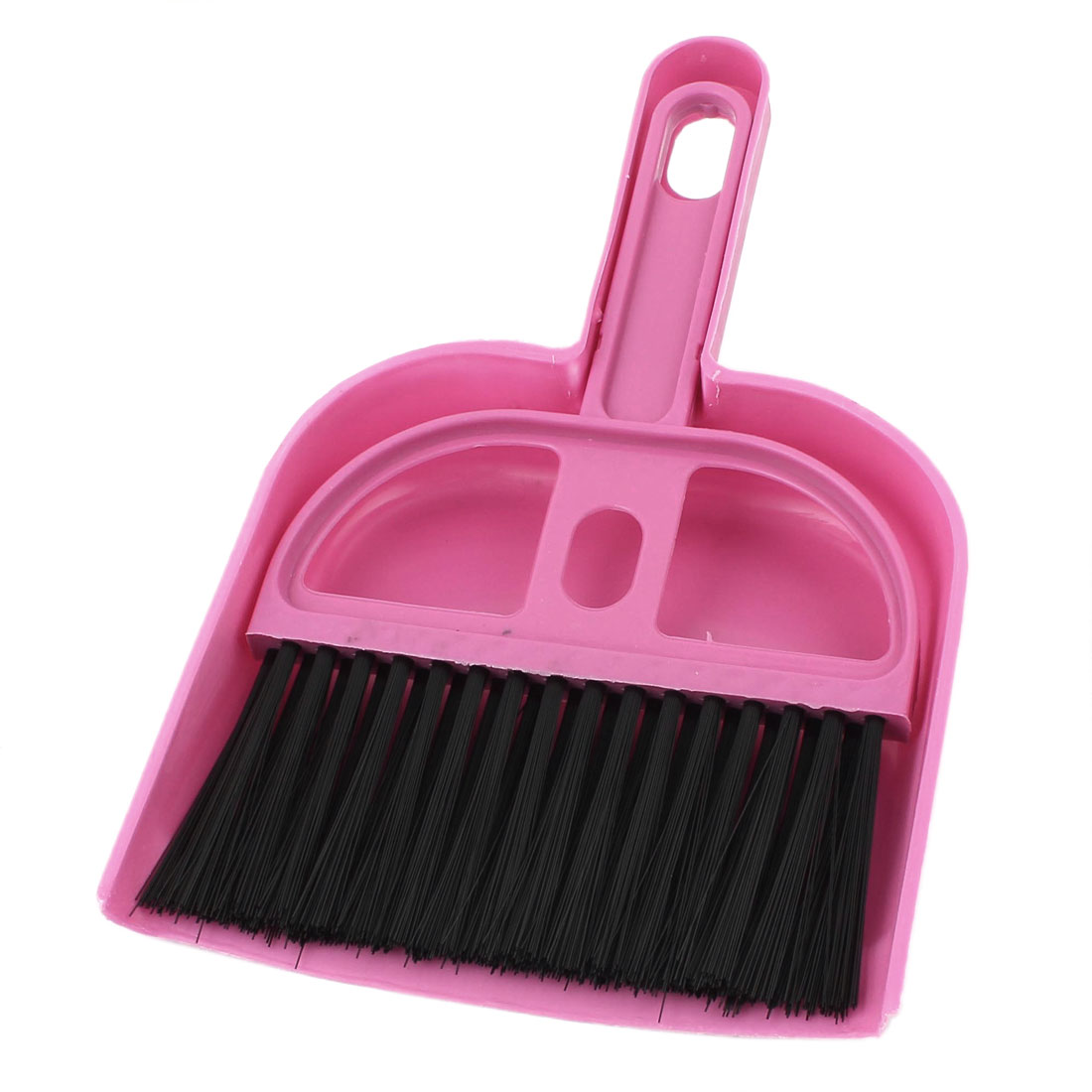Portable Home PC Desk Computer Keyboard Duster Cleaning Cleaner Brush Pink