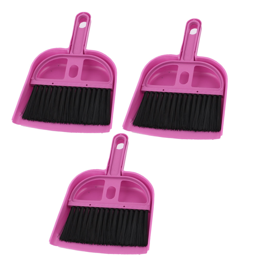 3 Pcs Portable PC Desk Computer Keyboard Duster Cleaning Cleaner Brush Pink