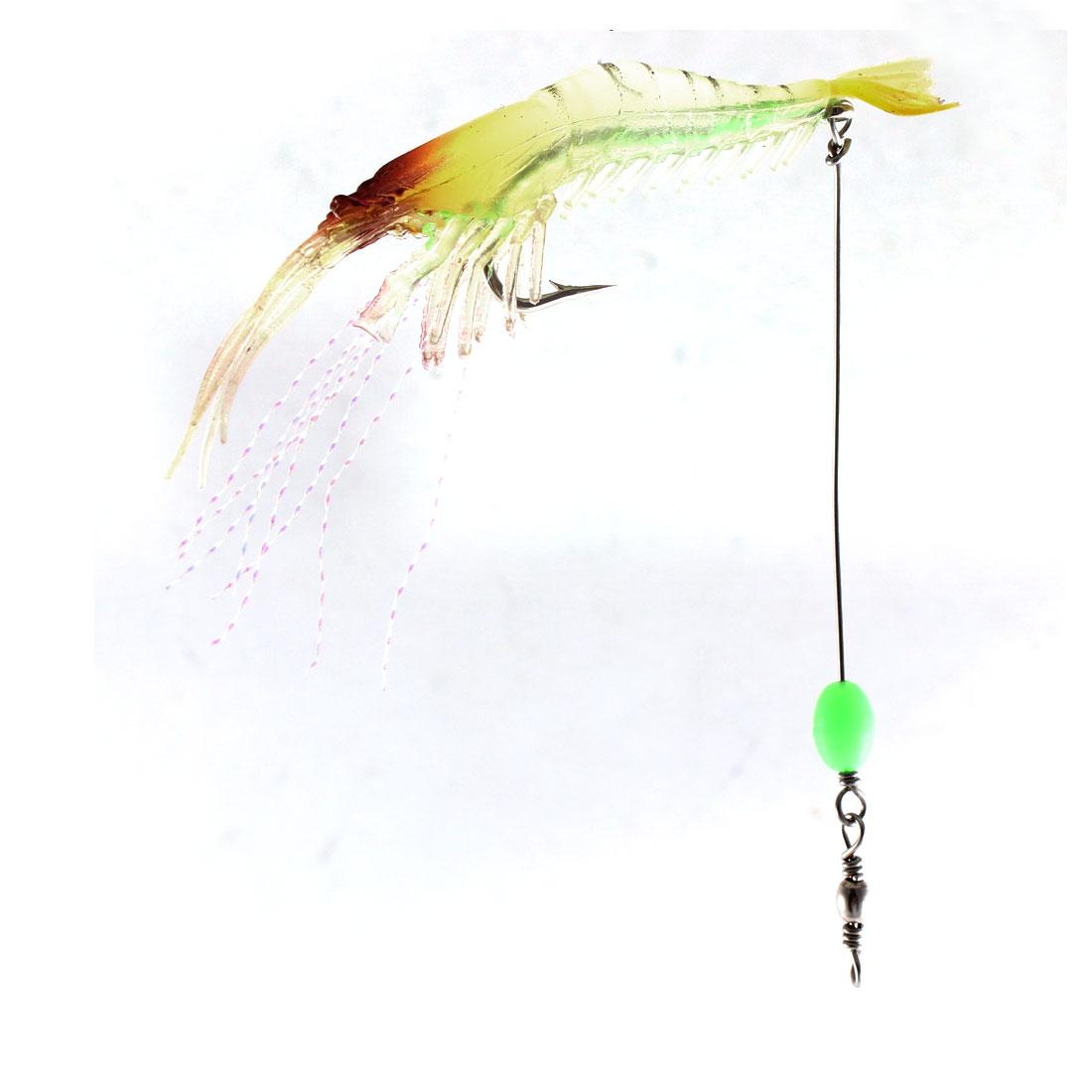 Metal Fishhook Soft Plastic Shrimp Design Fishing Lure Bait Tackle Angling Tool