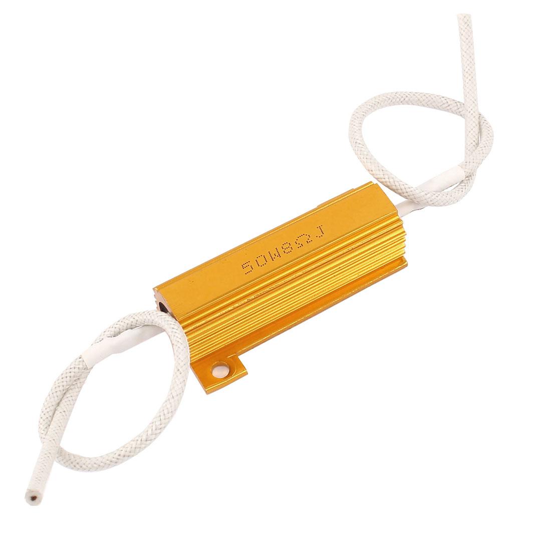 8Ohm 50W 5% Wirewound Car Loudspeaker Aluminum Clad Resistor
