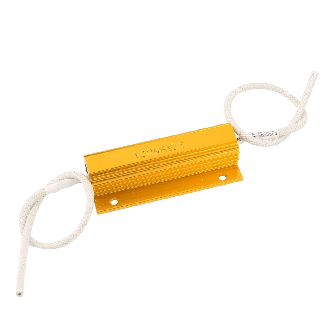 6Ohm 100W 5% Wirewound Car Loudspeaker Aluminum Clad Resistor