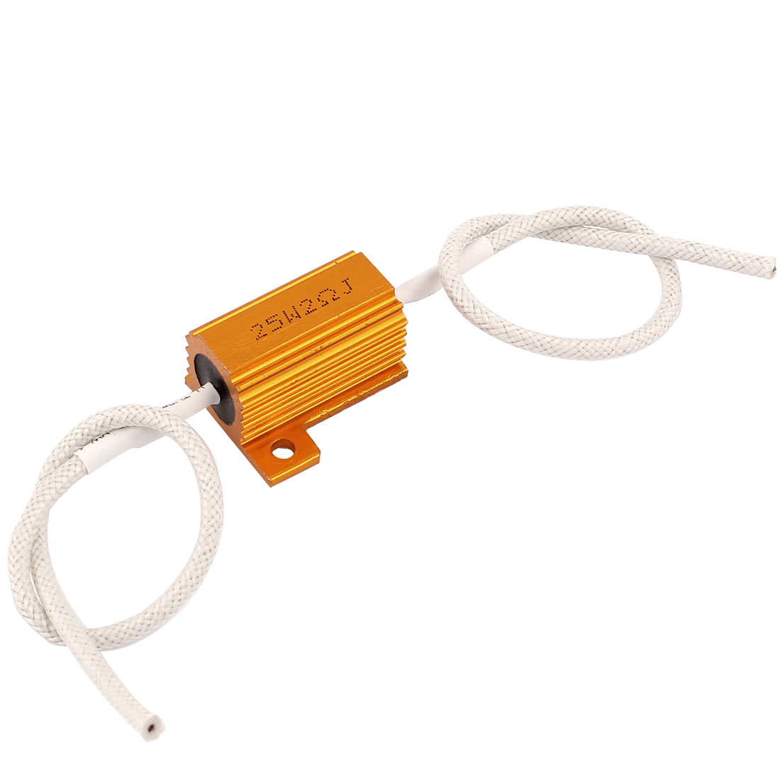 2Ohm 25W 5% Wirewound Car Loudspeaker Aluminum Clad Resistor