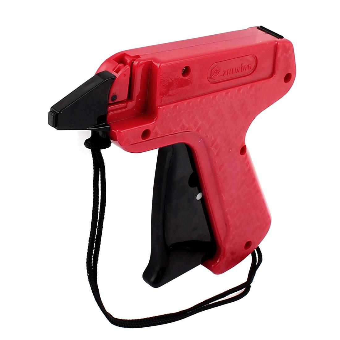 Black Red Plastic Garment Price Labelling 668 Tagging Gun w Lifting Rope