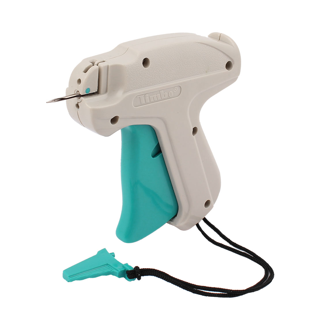 Gray Green Plastic Garment Price Labelling 9S Tagging Gun w Lifting Rope