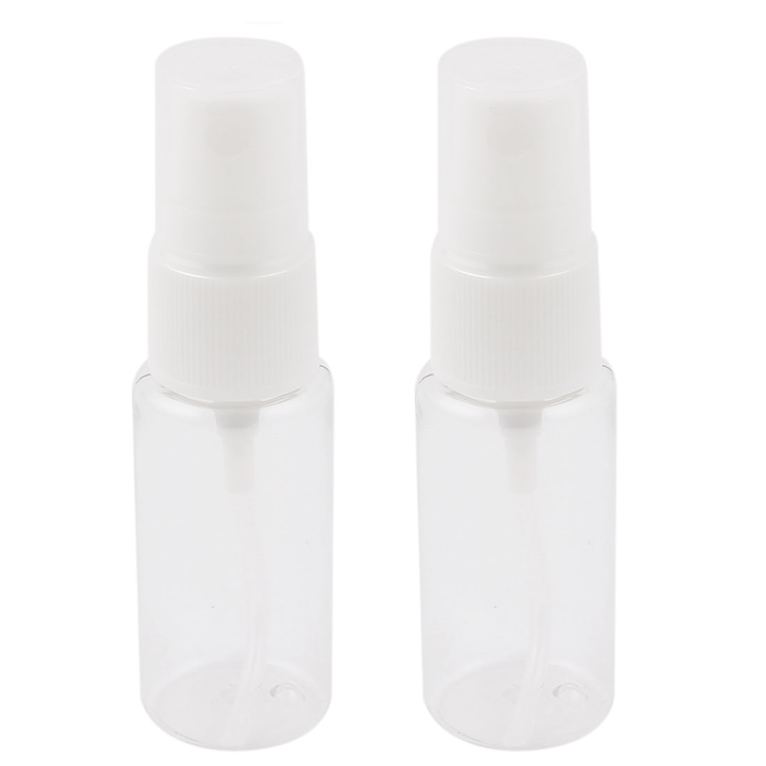 2PCS 20ml White Clear Cosmetic Makeup Perfume Container Water Liquid Holder Spray Bottles for Lady
