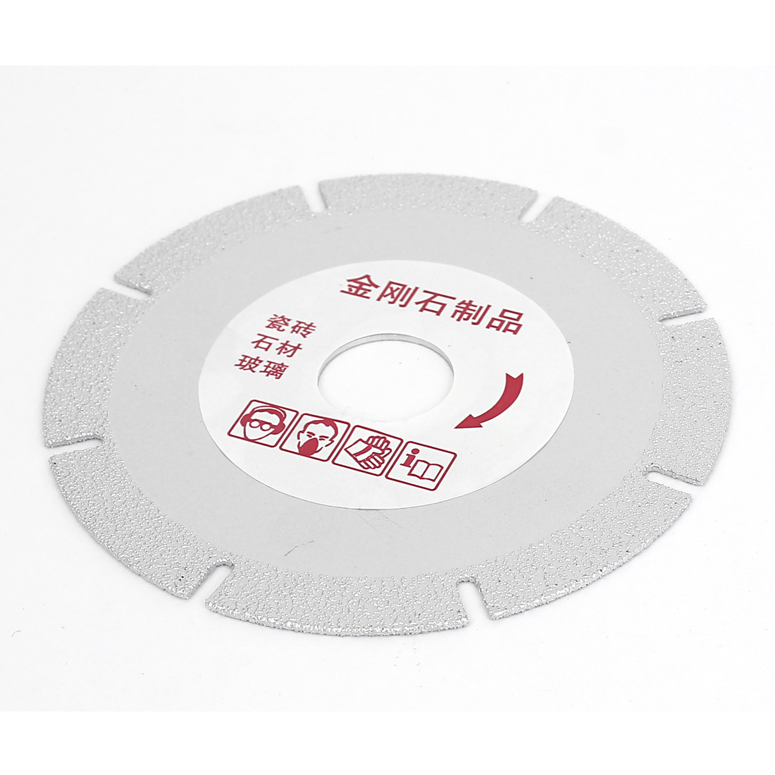 "4"" 100mm Marble Ceramic Glass Diamond Coated Grinding Disc Wheel"