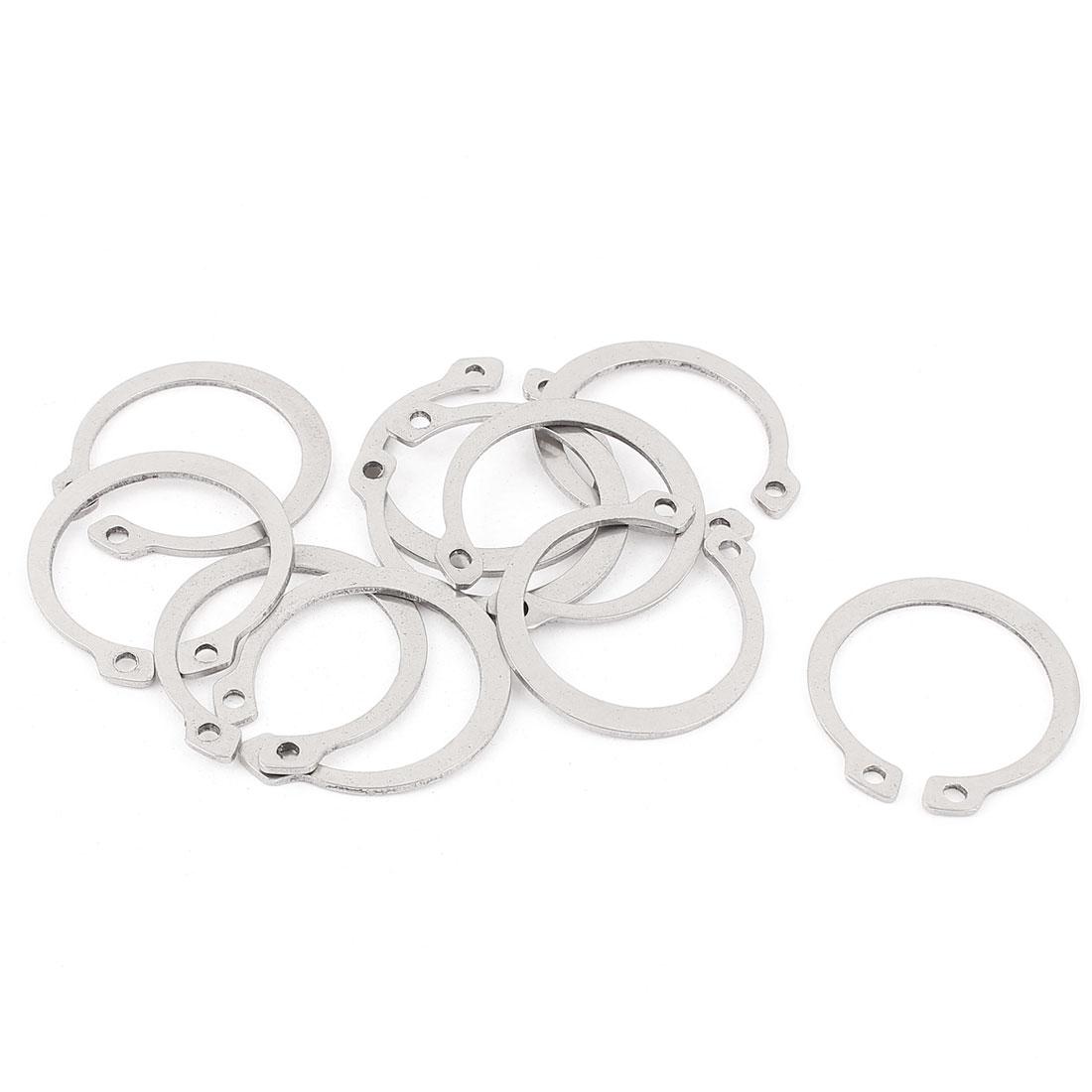10pcs 304 Stainless Steel External Circlip Retaining Shaft Snap Rings 26mm