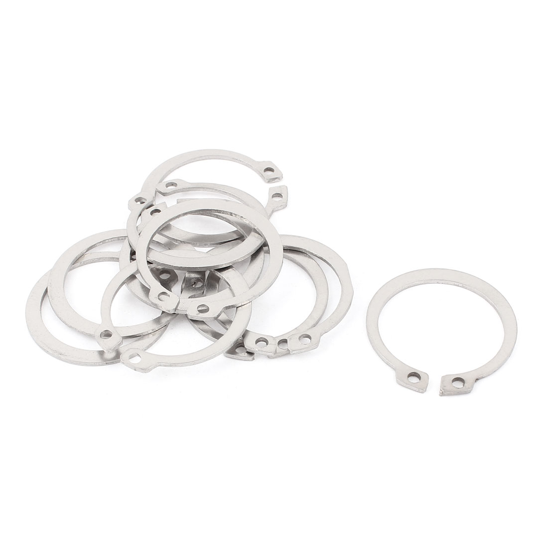 10pcs 304 Stainless Steel External Circlip Retaining Shaft Snap Rings 36mm