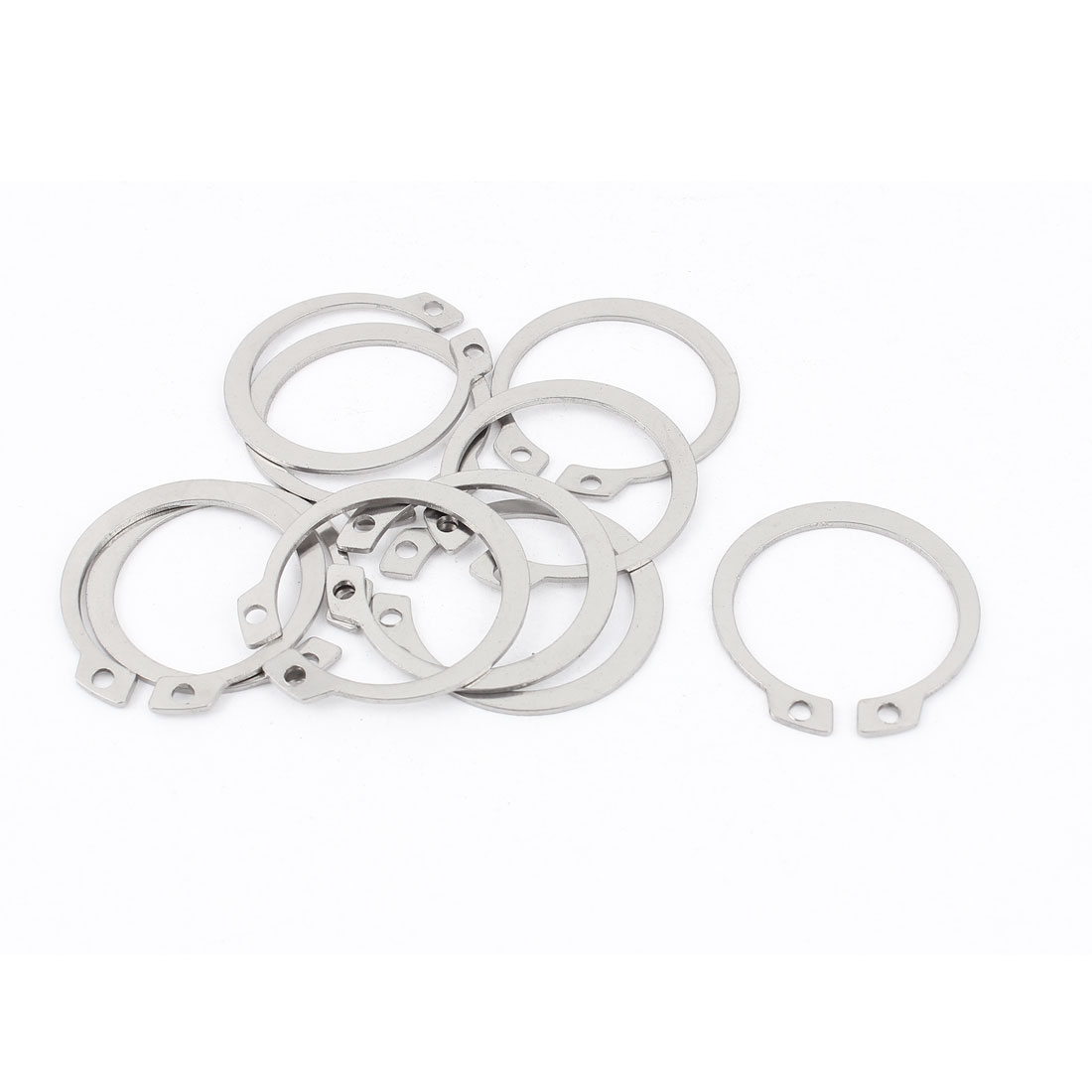 10pcs 304 Stainless Steel External Circlip Retaining Shaft Snap Rings 32mm