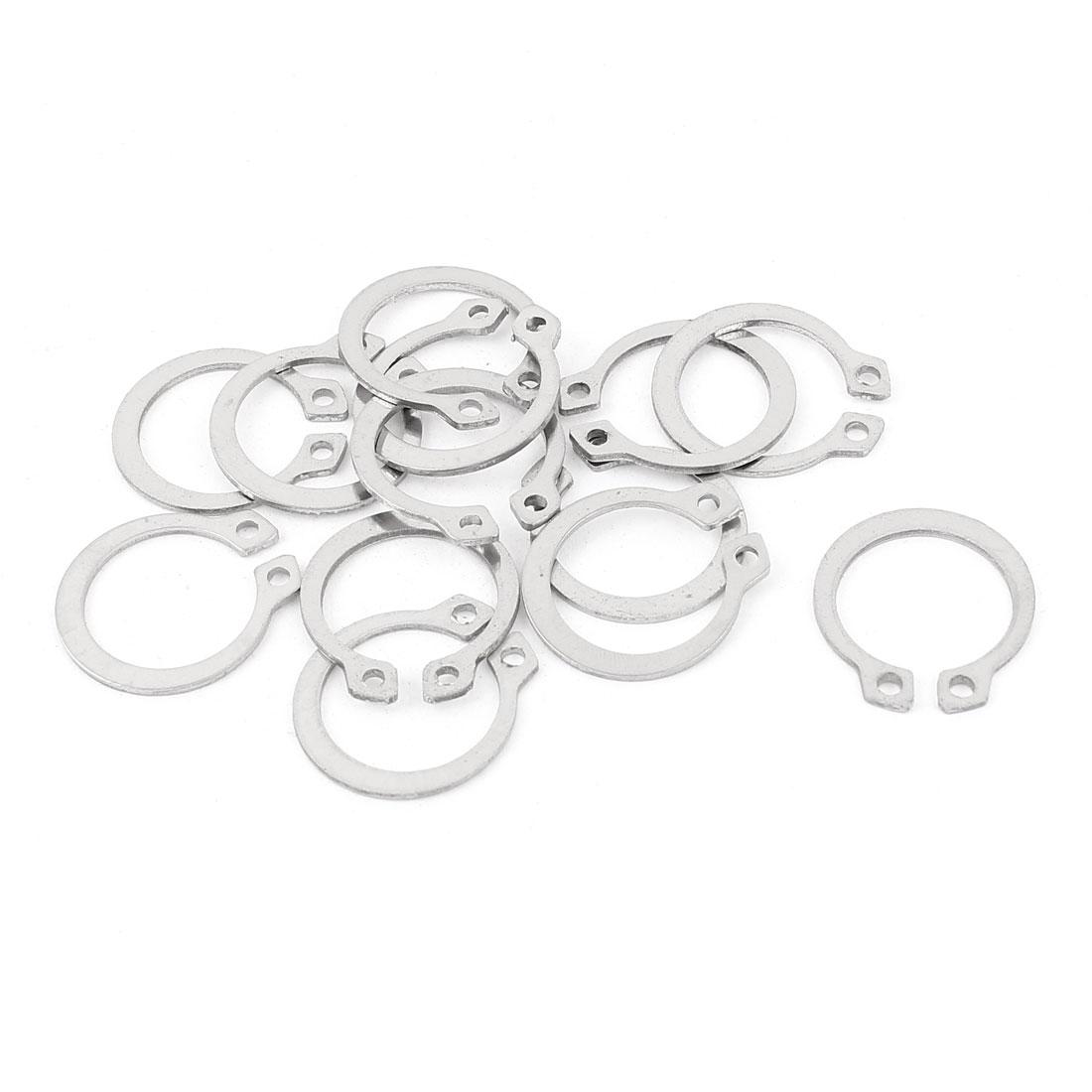 10pcs 304 Stainless Steel External Circlip Retaining Shaft Snap Rings 16mm