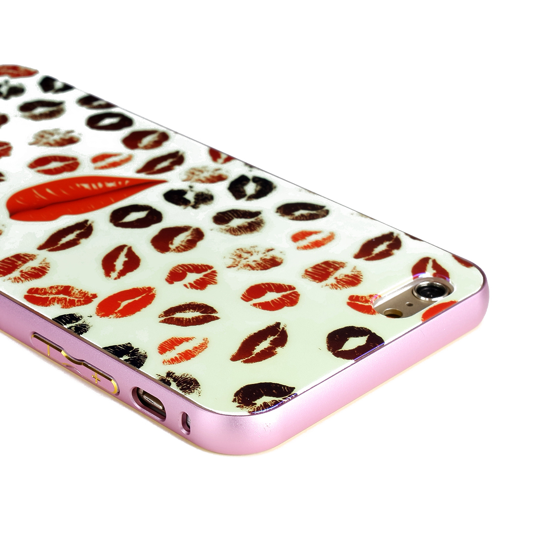 NEW Luxury Aluminum Ultra-thin Metal Case Cover for iPhone 6 Plus Lipstick