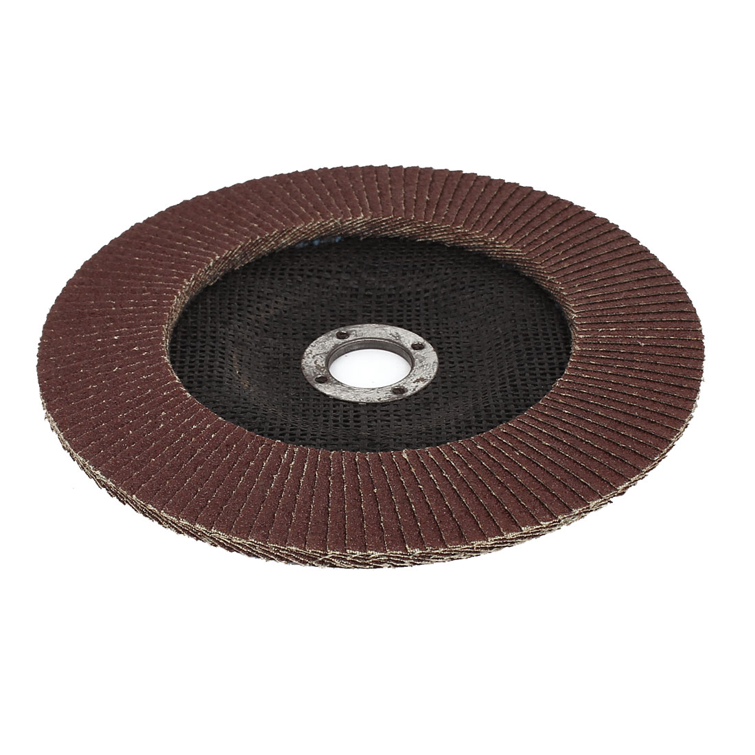 "180mm 7"" Dia 22mm Inner Hole 80 Grit Flap Sanding Disc Wheel for Angle Grinder"