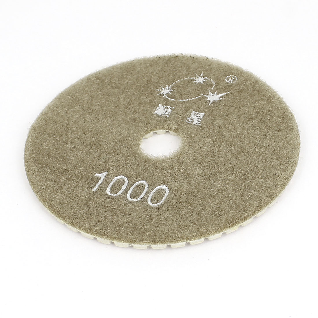 "4"" 100mm Dia Diamond Polishing Pads 1000 Grit for Granite Marble Concrete"