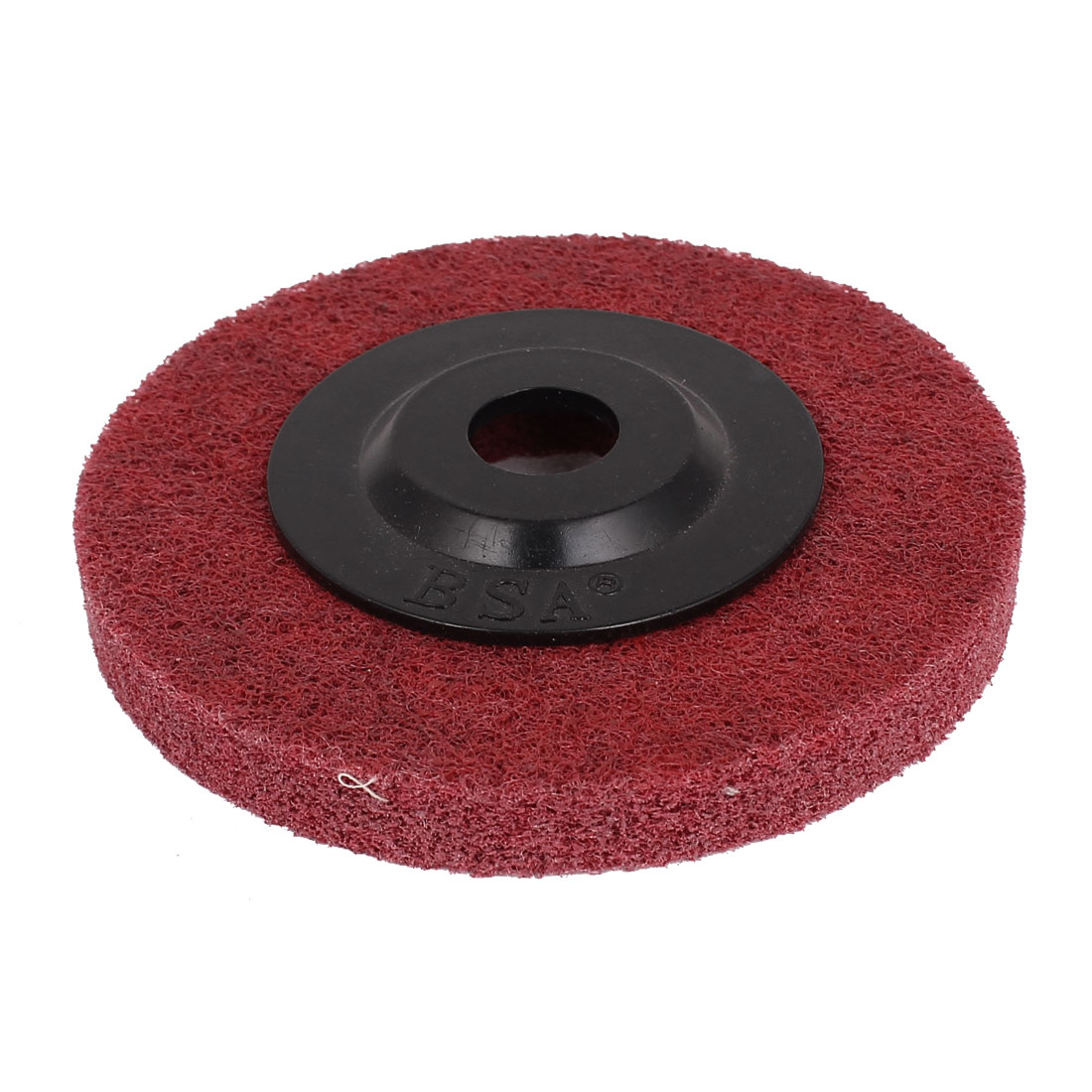 100mmx16mmx12mm Nylon Polishing Grinding Wheel Red for Angle Grinder