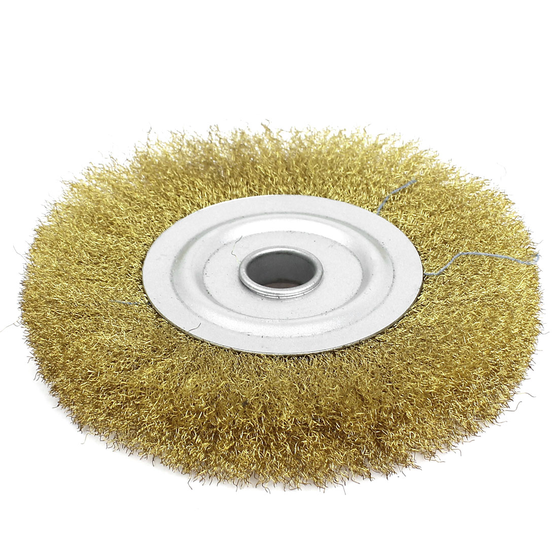 "5/8"" Arbor Crimped Steel Wire Wheel Brush 125mm 5"" Diameter for Angle Grinder"