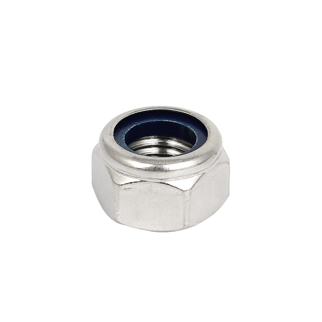 M20 x 2.5mm 304 Stainless Steel Nylock Self-Locking Nylon Insert Hex Lock Nut