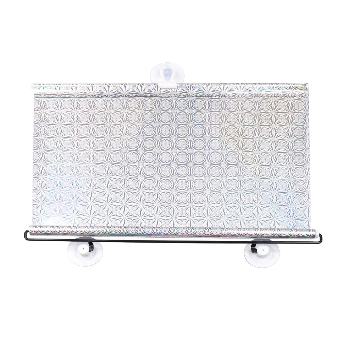 Vehicle Car Reflective Sunshield Sun Shade Protector Silver Tone 125cm x 45cm