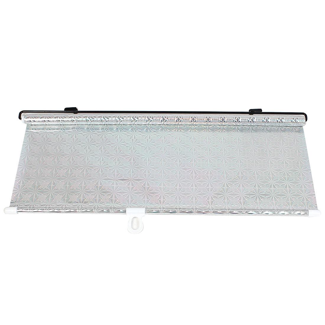 Vehicle Car Reflective Sunshield Sun Shade Protector Silver Tone 125cm x 50cm