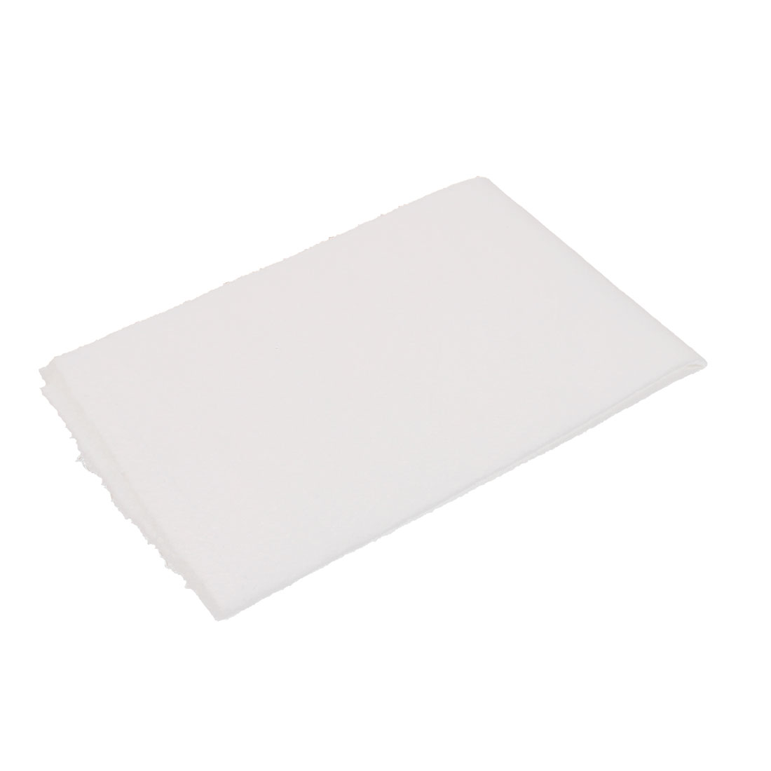 50cm x 43cm Microfiber Cleaning Polishing Cloth Car Valeting Towel White