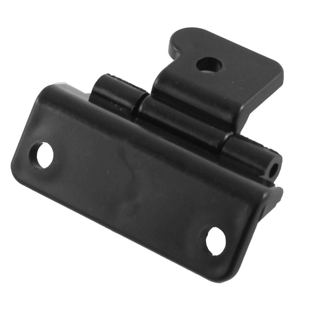5.5mm Mounting Hole Plastic Black Glove Box Hinge for Car