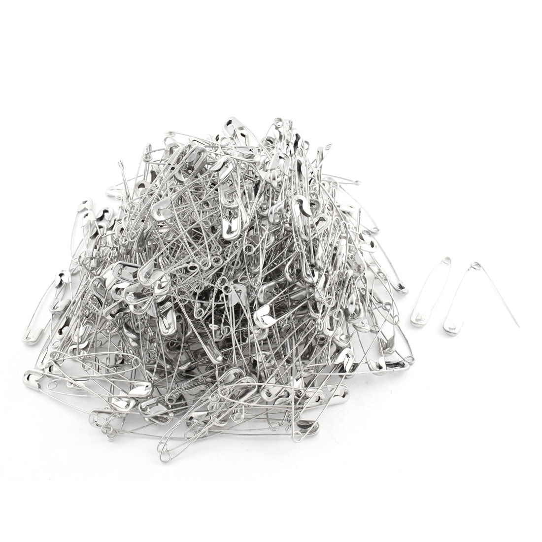 Silver Tone Hobby Craft Gear Repair Size 4 Industrial Safety Pin 500 Pcs