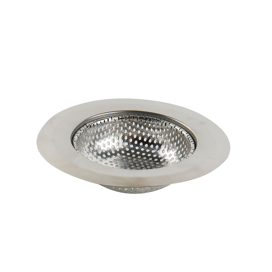 Home Kitchen Stainless Steel Sink Strainer Drain Stopper Basket 11cm Diameter