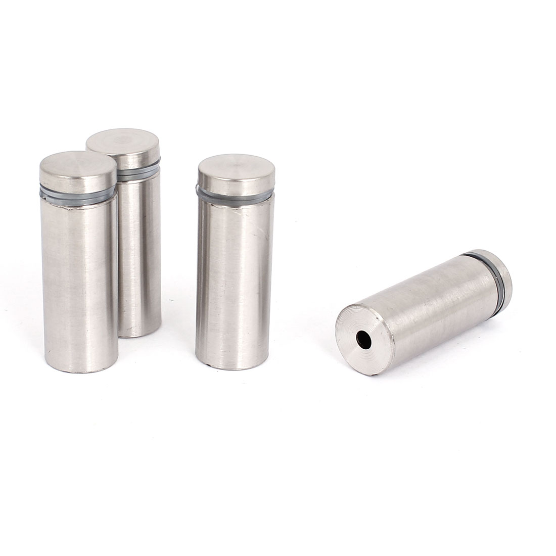 19mm x 50mm Stainless Steel Advertising Nails Glass Standoff Hardware 4 Pcs