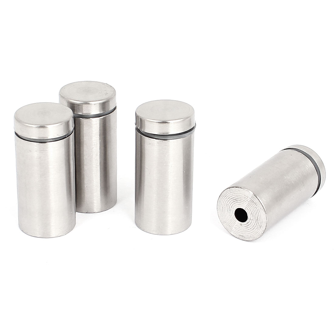 19mm x 40mm Stainless Steel Advertising Nails Frameless Glass Standoff 4 Pcs